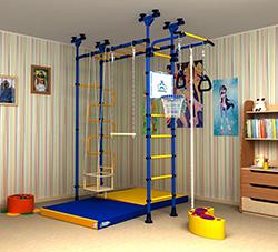спортивный уголок для детей в квартиру фото