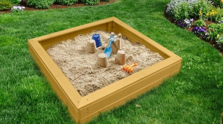 Какой песок выбрать для детской песочницы