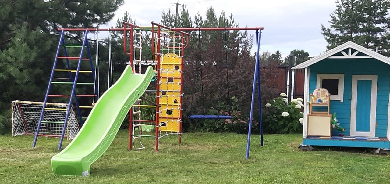 Детская площадка для дачи своими руками