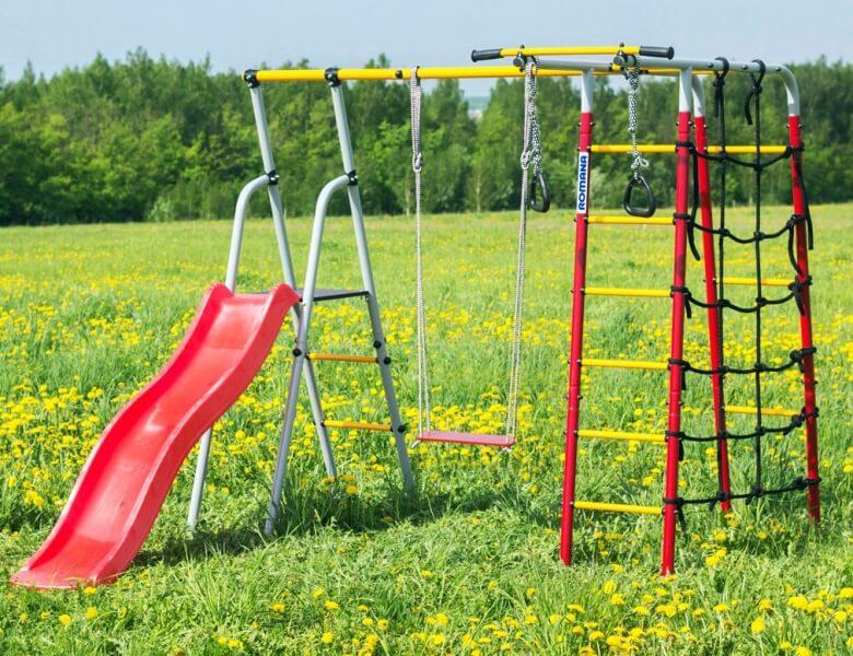 Детские спортивные комплексы для дачи и улицы